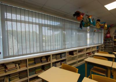 Store vertical école maternelle