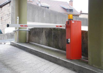 Contrôle d'accès à un parking