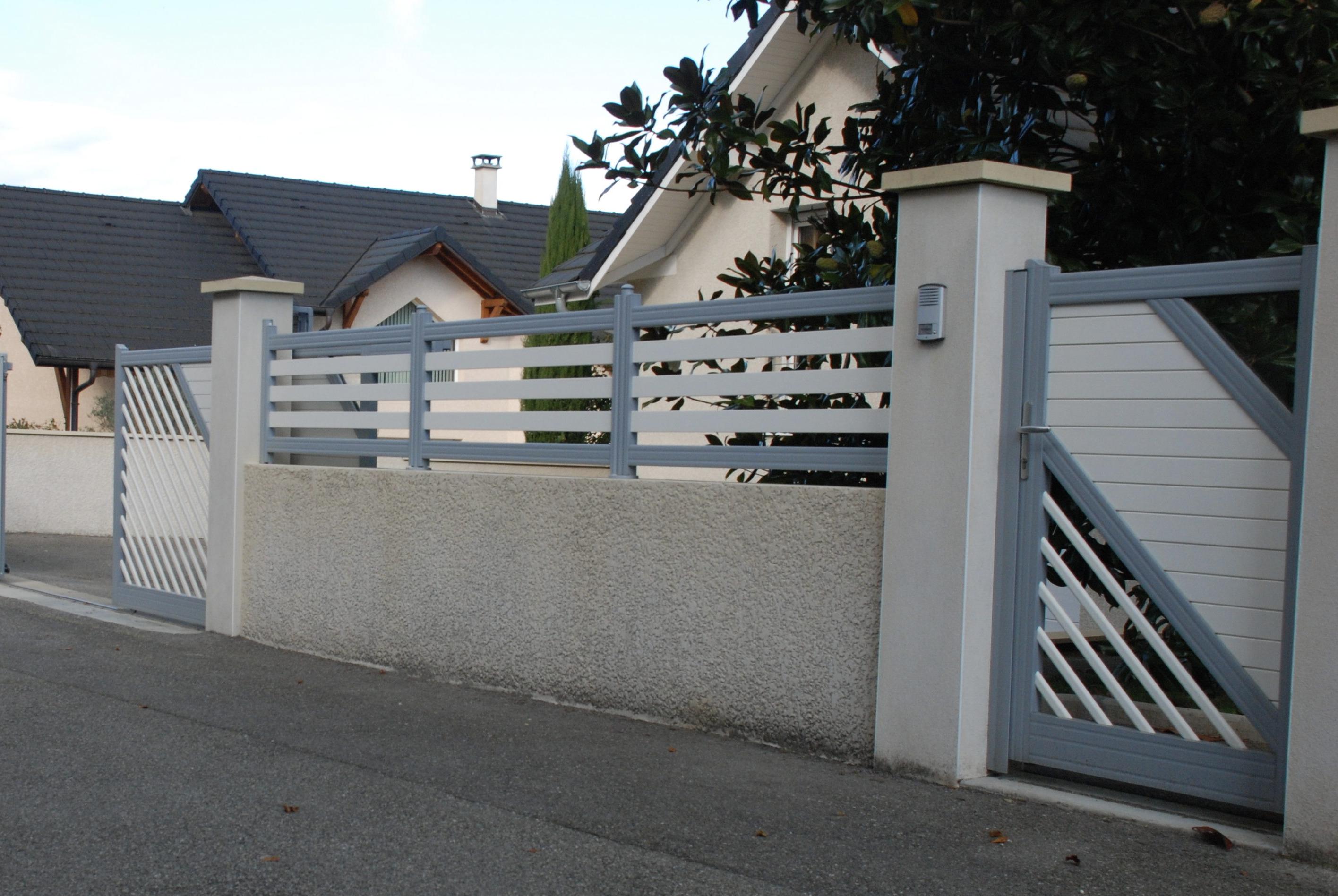 Portail et cloture pour résidence, villa et maison